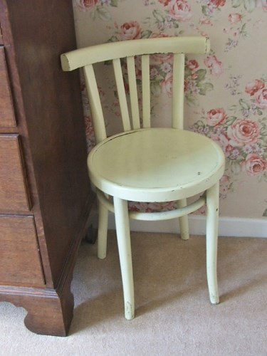 Old Painted Bentwood Chair