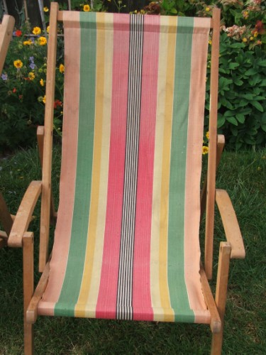 Vintage Deckchair