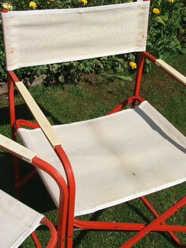 Vintage Folding Director's Chair