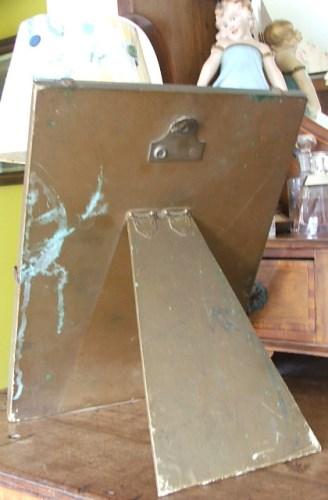 Crinoline Lady Easel Mirror