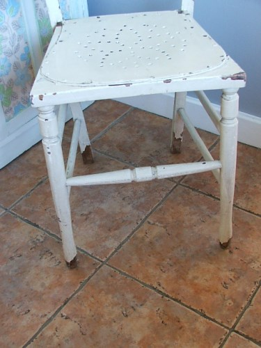 Vintage Wooden Painted Chair
