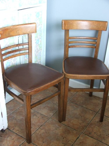 Pair of 1960's Vintage/Retro Kitchen Chairs