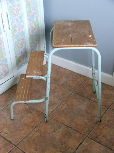 Vintage Folding Step Stool