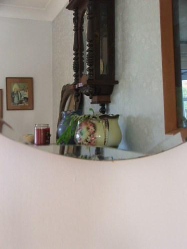 Vintage Circular Wall Mirror