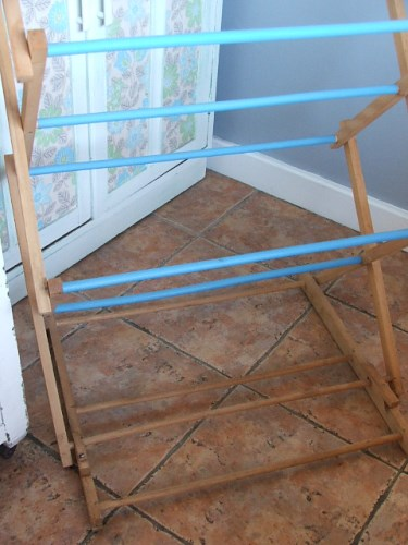 Vintage Concertina Airer/Clothes Horse