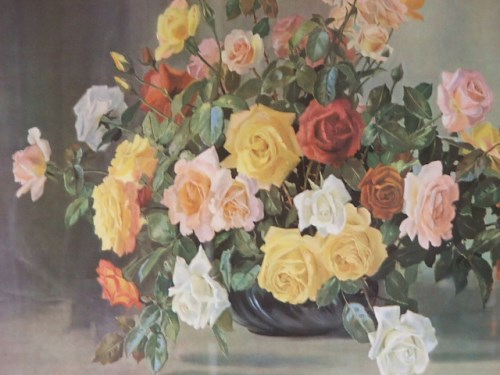 Bowl of Roses by A Nikolsky