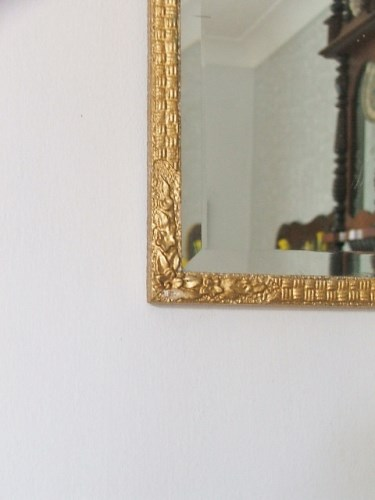 Pretty Mirror with floral detail