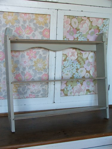 Painted Wall Shelf