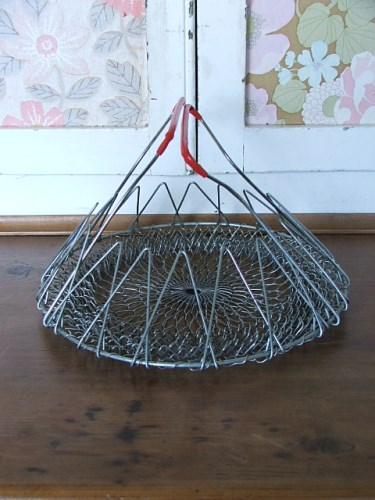 Wire Folding Basket