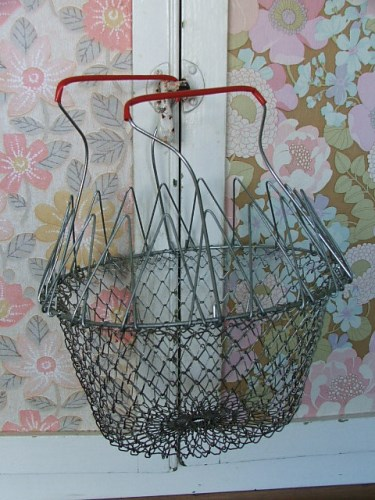 Wire Folding Storage Basket