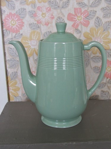 Beryl Woods Ware Coffee Pot