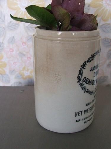 Old Pottery Marmalade Jar