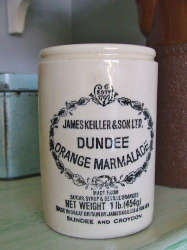 Vintage James Keiller Dundee Marmalade Pot