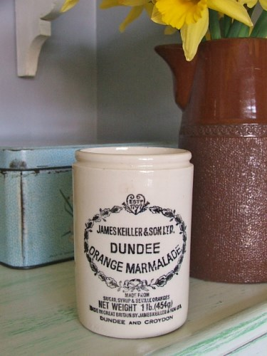 Old Vintage Dundee Marmalade Pot