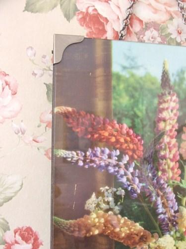 Old Vintage Floral Picture