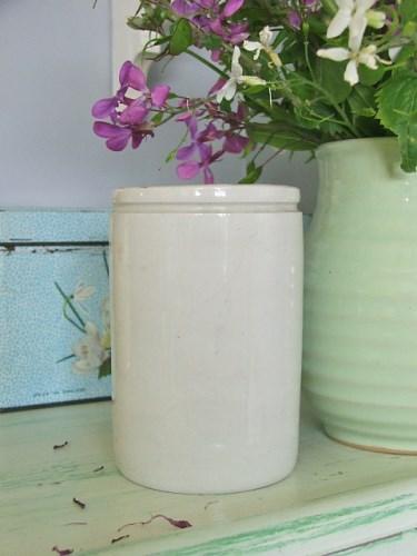 Pottery Marmalade Jar