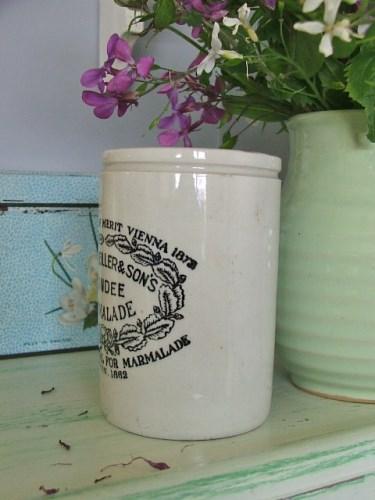 Vintage Pottery Dundee Marmalade Jar
