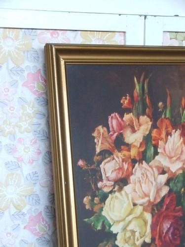 Vintage 'Roses' Floral Print