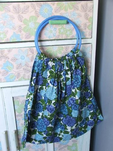 Vintage Floral Fabric Bag