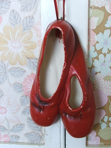Vintage Pottery Ballet Shoes
