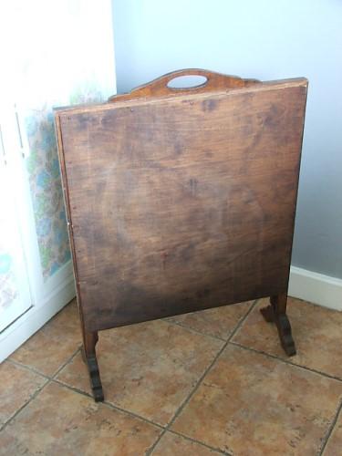 Vintage Wooden firescreen