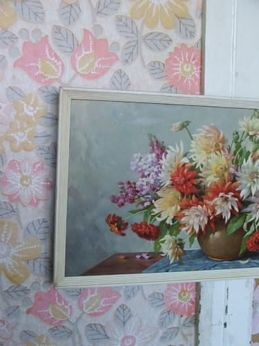 Vintage Floral Picture