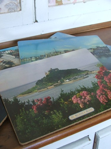 Vintage Cornish Placemats