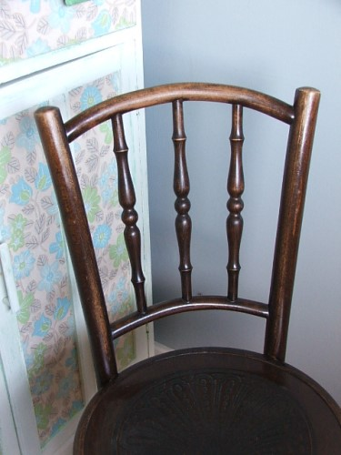 Vintage Wooden Bentwood Chair