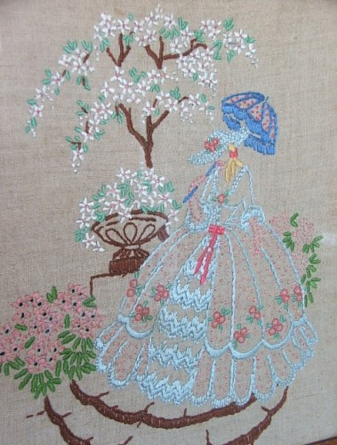 Pretty Vintage Embroidery