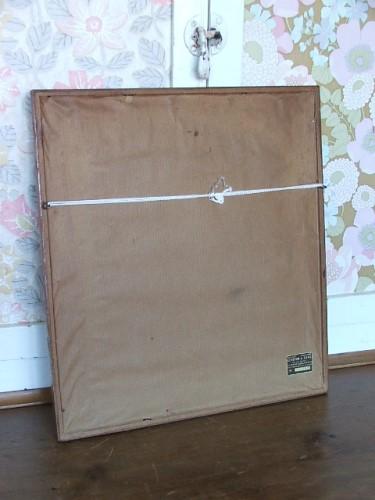Framed Vintage Embroidery