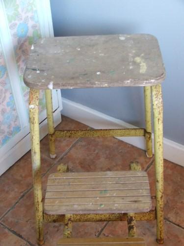 Old Vintage Step Ladders