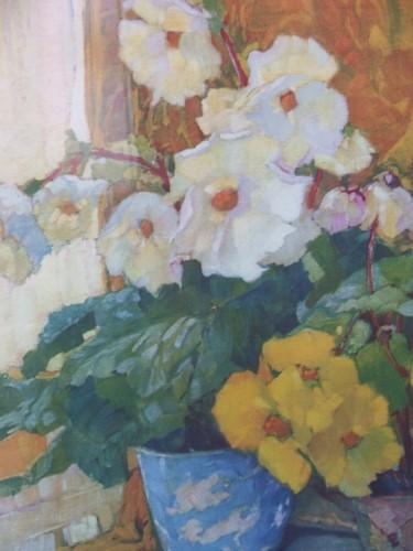 Vintage Vibrant Floral Picture
