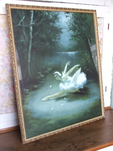 Gorgeous Large Carlotta Edwards Ballet Picture
