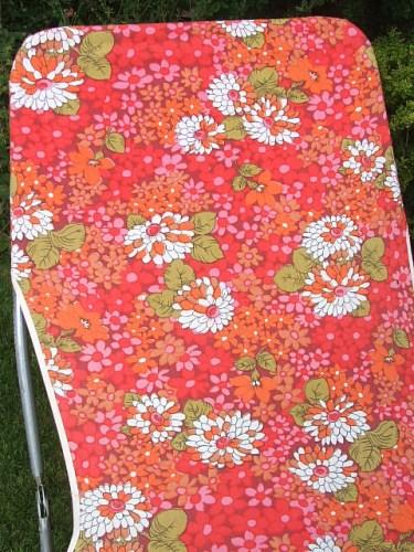 floral sunbed