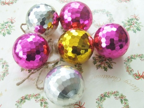 Retro Christmas Baubles
