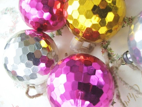 Selection of Retro Christmas Baubles