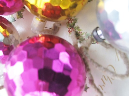 Retro Glass Baubles