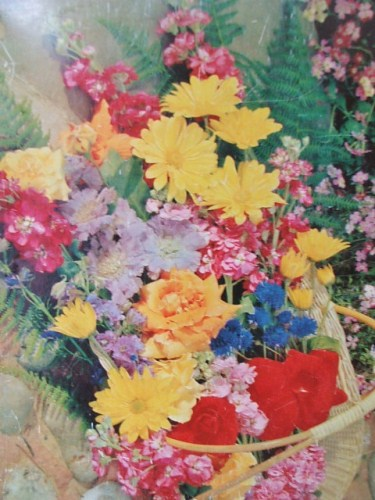 Pretty Vintage Floral McVities Biscuit Tin