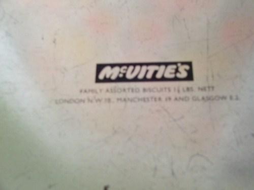 McVities Biscuit Tin