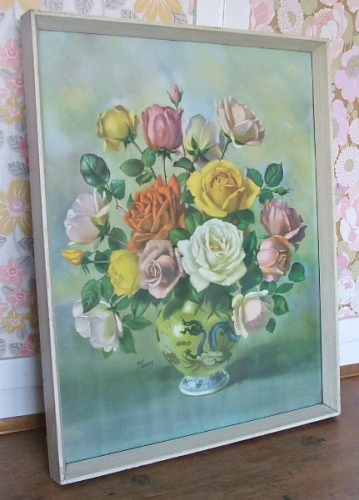 Lovely Wilf Walker Floral Print