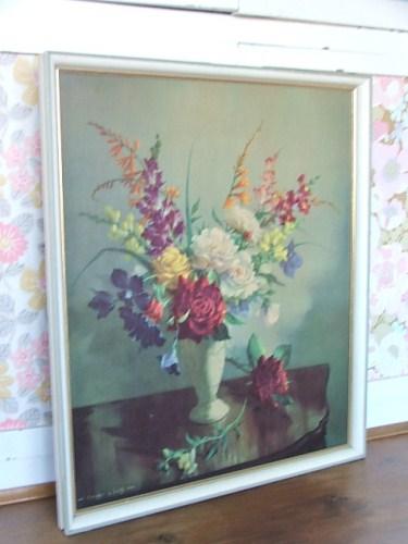 Pretty Floral Vernon Ward Print