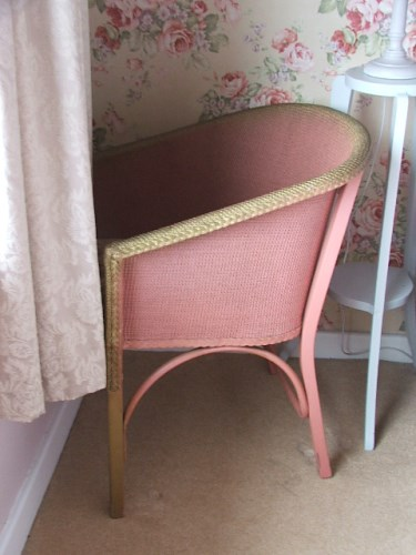 LLoyd Loom Style Wicker Chair