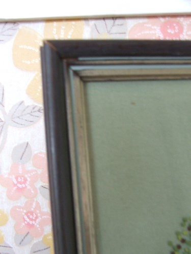 Framed Vintage Embroidery