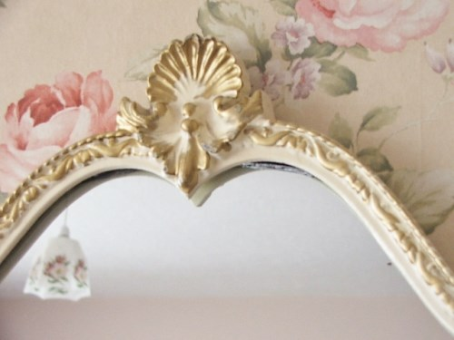 Pretty 1960's Wall mirror