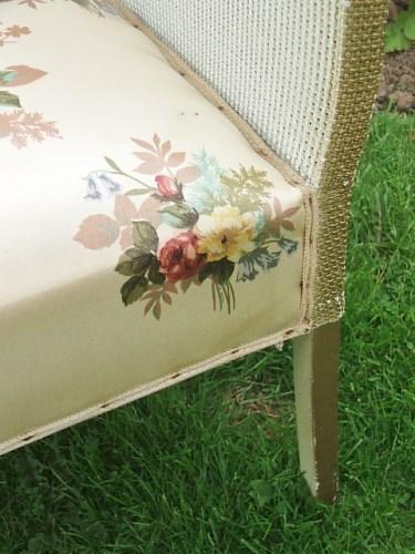 Vintage Wicker Bedroom Chair
