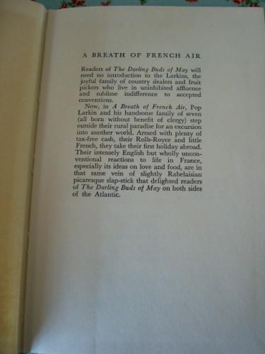 A Breath of French Air by H E Bates