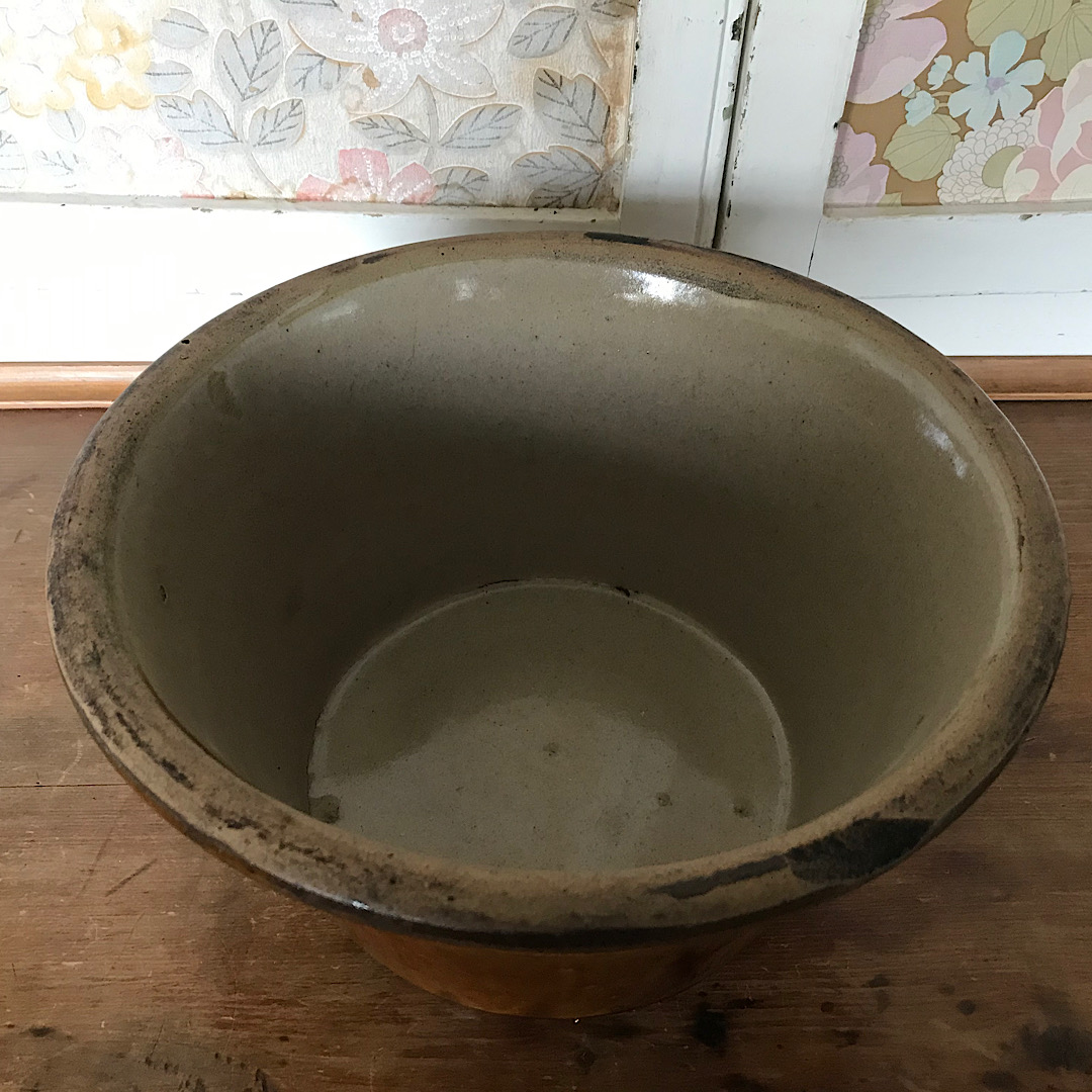 Rustic Dairy Mixing Bowl