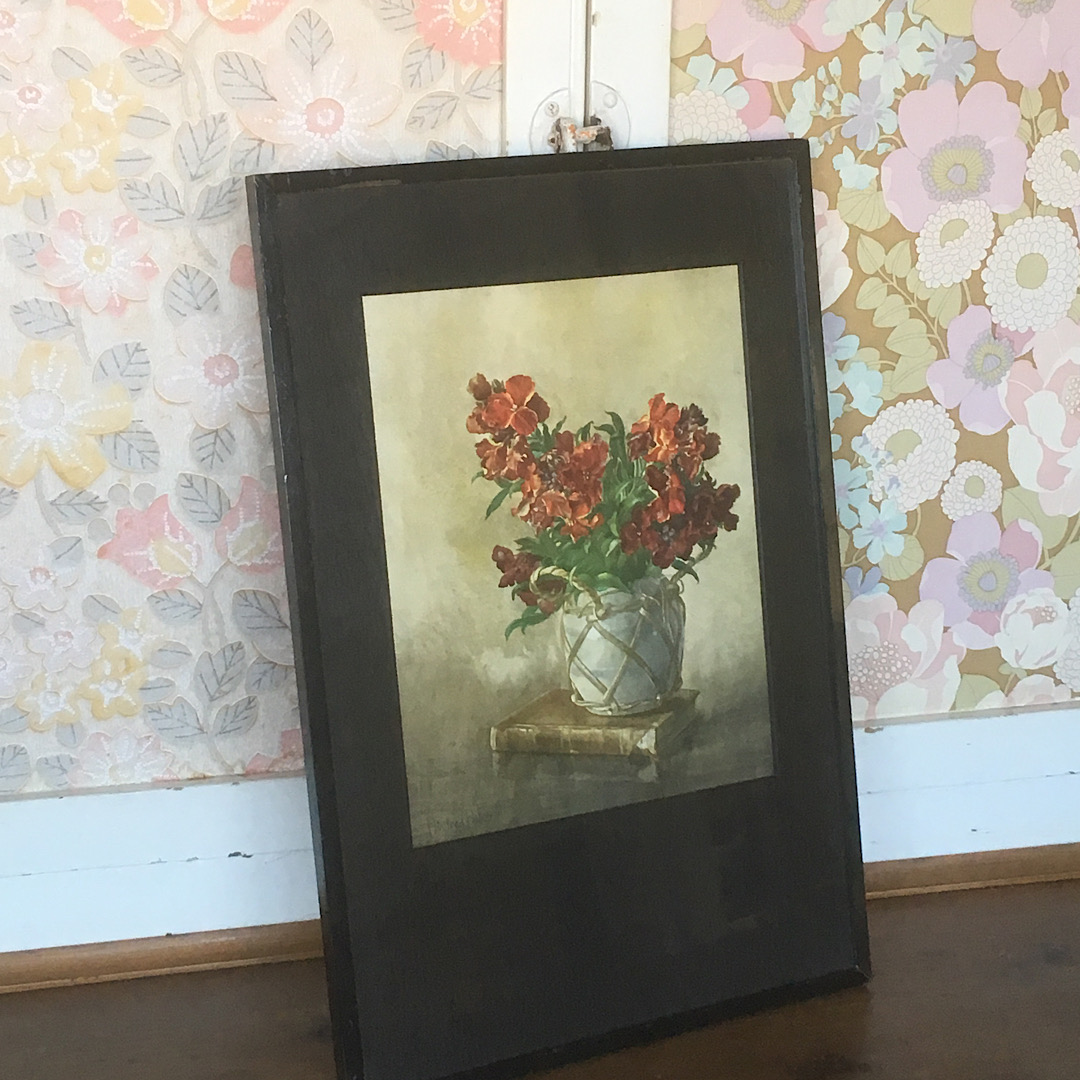 Pretty Floral Framed Print