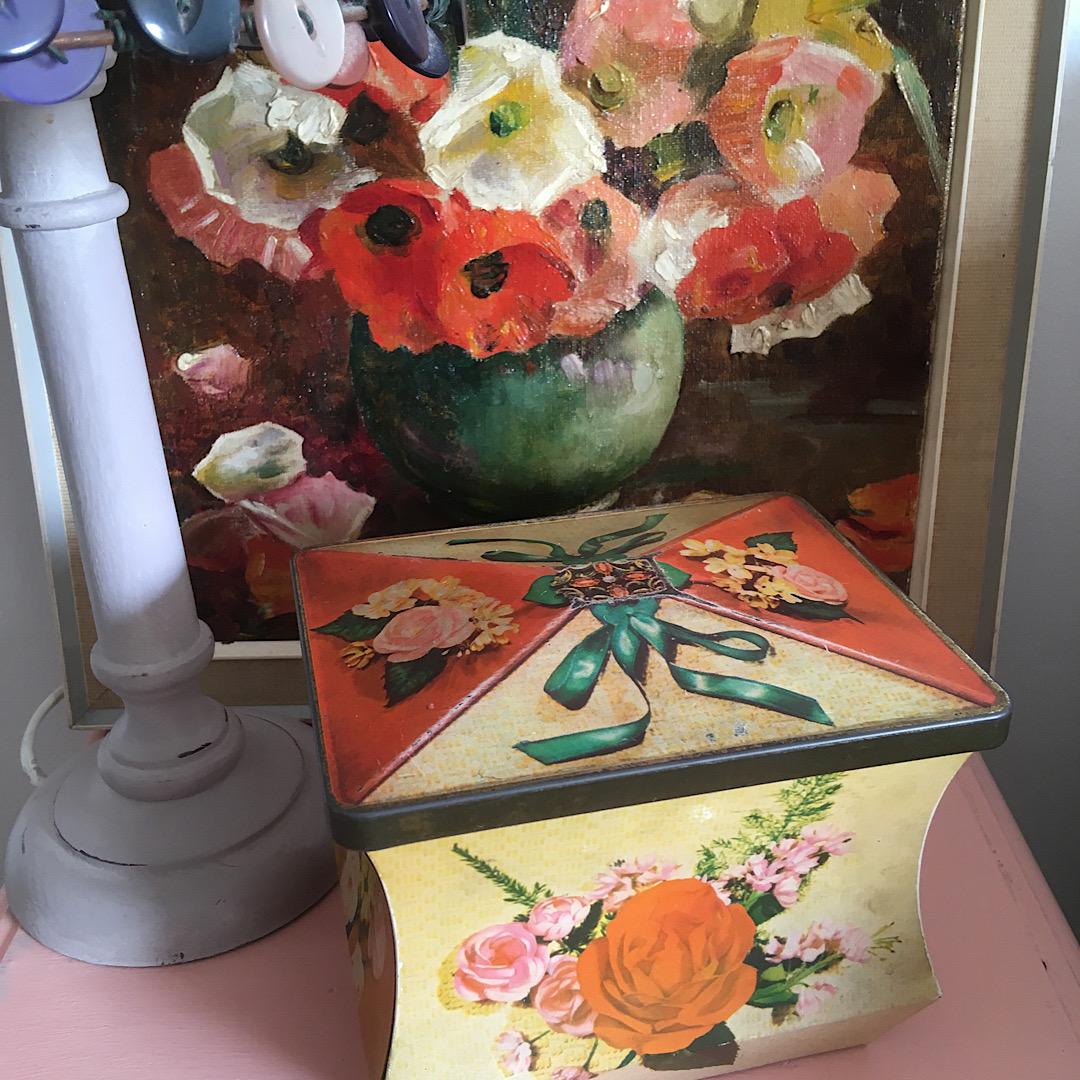 Lovely Floral Tin
