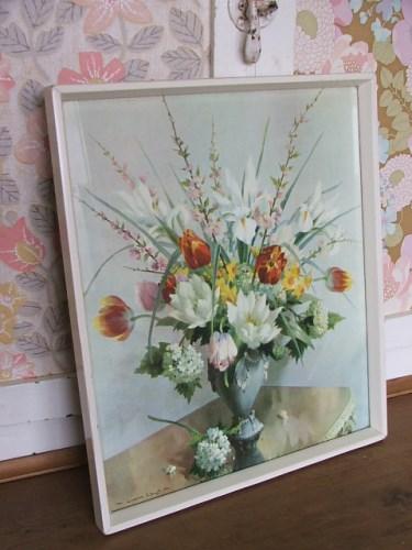 Floral Vernon Ward Print